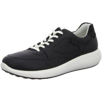 Schuhe Damen Derby-Schuhe & Richelieu Ecco Schnuerschuhe Soft 7 Runner 460613/01001 schwarz