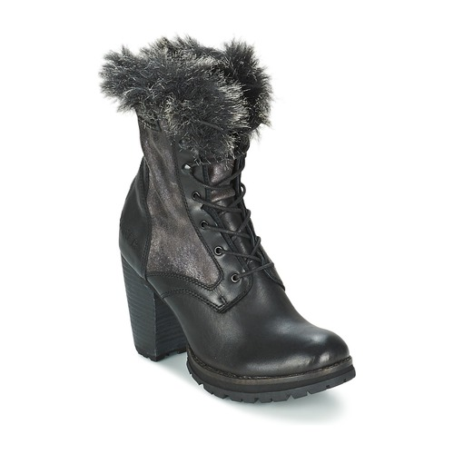 Bunker ACE MAJA Schwarz Schuhe Low Boots Damen 77,50