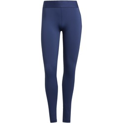 Kleidung Damen Leggings adidas Originals Alphaskin lange Tight Blau