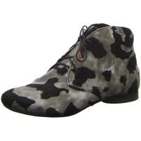 Schuhe Damen Stiefel Think Stiefeletten GUAD 08-Kn.Schnürer 5-85297-07 schwarz