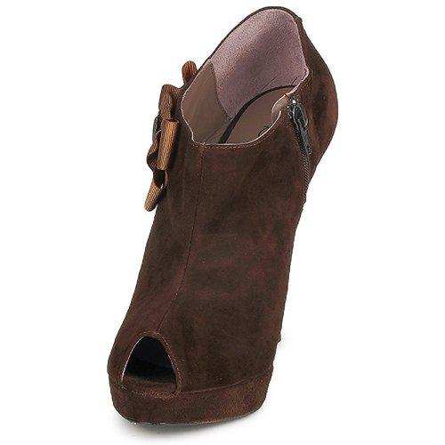 Fericelli ASSETE Braun Braun ASSETE Schuhe Ankle Boots Damen 84,50 9fbe49