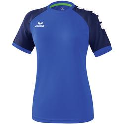 Kleidung Damen T-Shirts Erima Maillot femme  Zenari 3.0 bleu/bleu/vert clair