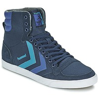 Schuhe Sneaker High Hummel TEN STAR WAXED CANVAS HI Blau
