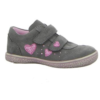 Schuhe Mädchen Sneaker Low Lurchi By Salamander Klettschuhe TANITA 33-15290-25 grau