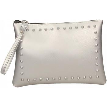 Taschen Damen Geldtasche / Handtasche Gum SATIN STUDS 359-argento