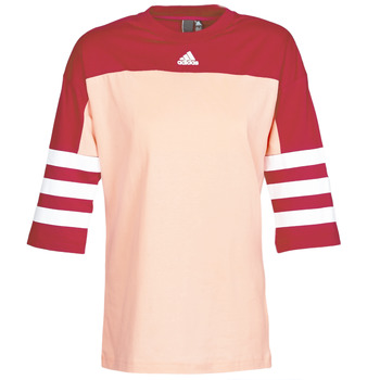 Kleidung Damen T-Shirts adidas Performance W SID JERSEY Rot