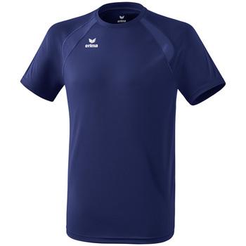 Kleidung Kinder T-Shirts Erima T-shirt enfant  Performance bleu