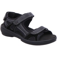 Schuhe Damen Sandalen / Sandaletten Fidelio Sandaletten G-WEITE 445007-10 schwarz