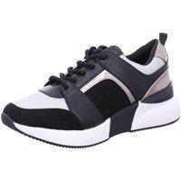 Schuhe Damen Sneaker Low La Strada 1807433 black-silver-multi 1807433-6001 schwarz