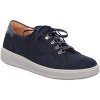 Schuhe Damen Derby-Schuhe & Richelieu Ganter Schnuerschuhe Heidi blau