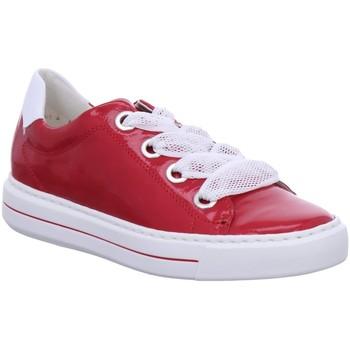 Schuhe Damen Sneaker Low Ara Schnuerschuhe COURTYARD 1237409-11 rot