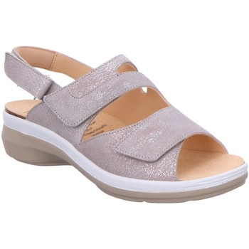 Schuhe Damen Sandalen / Sandaletten Ganter Sandaletten Sandalette GRITT 205633-7400 silber