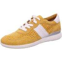 Schuhe Damen Sneaker Low Jana Schnuerschuhe 100% C 88 23753 24 627 gelb