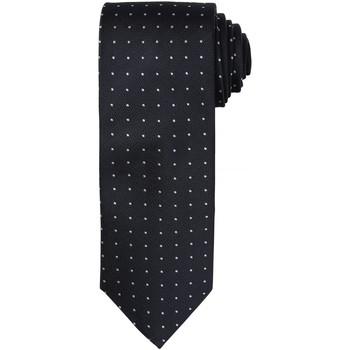 Kleidung Herren Krawatte und Accessoires Premier Dot Pattern Schwarz / Dunkelgrau