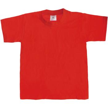 Kleidung Kinder T-Shirts B And C Exact 190 Rot