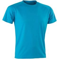 Kleidung Herren T-Shirts Spiro Aircool Blau