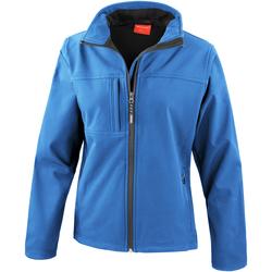 Kleidung Damen Jacken Result R121F Azurblau