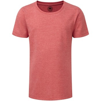 Kleidung Mädchen T-Shirts Russell R165G Rot Marl