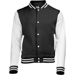 Kleidung Kinder Jacken Awdis JH43J Schwarz/Weiß