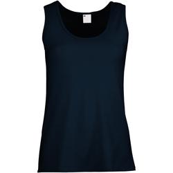 Kleidung Damen Tops Universal Textiles Fitted Mitternacht Blau