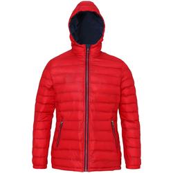 Kleidung Damen Daunenjacken 2786 TS16F Rot/Marineblau