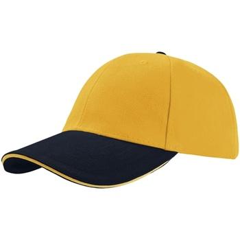 Accessoires Schirmmütze Atlantis Liberty Gelb/Marineblau