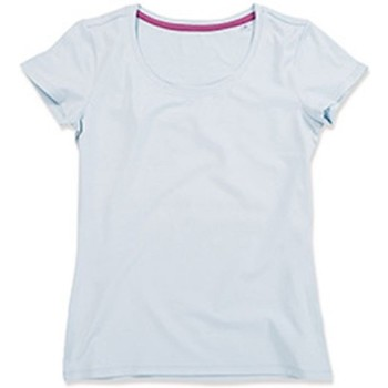 Kleidung Damen T-Shirts Stedman Stars  Hellblau