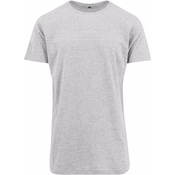 Kleidung Herren T-Shirts Build Your Brand Shaped Grau meliert