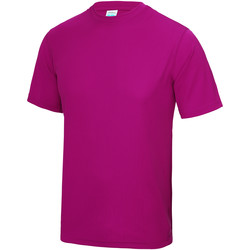 Kleidung Kinder T-Shirts Awdis JC01J Hot Pink