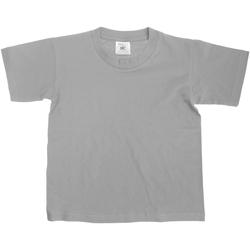 Kleidung Kinder T-Shirts B And C TK300 Grau