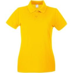 Kleidung Damen Polohemden Universal Textiles 63030 Gold