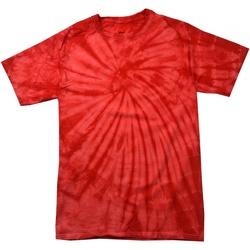 Kleidung Kinder T-Shirts Colortone Spider Spinne Rot