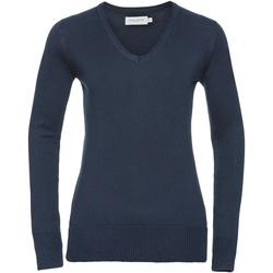 Kleidung Damen Pullover Russell 710F Marineblau