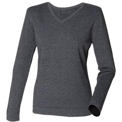 Kleidung Damen Pullover Henbury HB721 Grau
