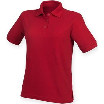 Kleidung Damen Polohemden Henbury HB401 Vintage Rot