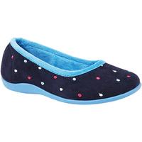 Schuhe Damen Hausschuhe Sleepers  Blau/Türkis
