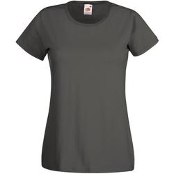 Kleidung Damen T-Shirts Universal Textiles 61372 Graphit