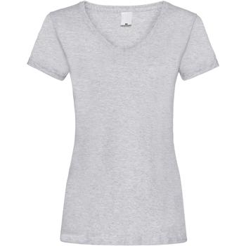 Kleidung Damen T-Shirts Universal Textiles Value Grau meliert