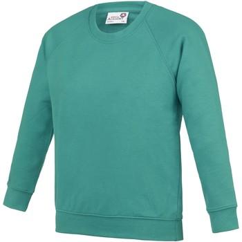 Kleidung Kinder Sweatshirts Awdis  Grün