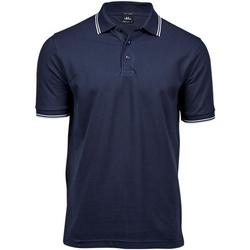 Kleidung Herren Polohemden Tee Jays TJ1407 Marineblau/Weiß
