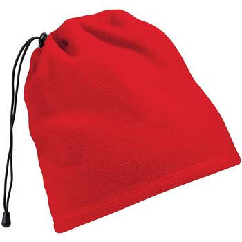 Accessoires Mütze Beechfield Suprafleece Rot