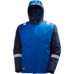 Kleidung Herren Windjacken Helly Hansen Aker Blau/Nachtblau