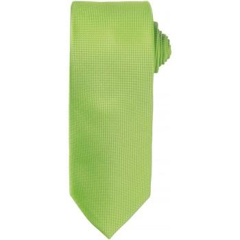 Kleidung Herren Krawatte und Accessoires Premier Waffle Limette