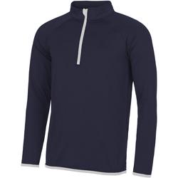 Kleidung Herren Sweatshirts Awdis JC031 Marineblau/Weiß