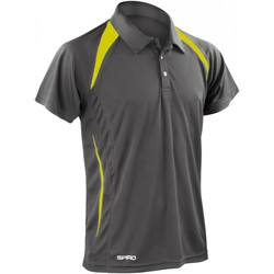 Kleidung Herren Polohemden Spiro S177M Grau/Grün