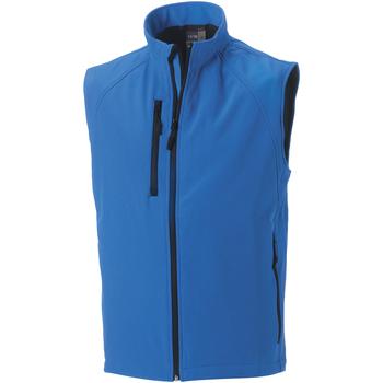 Kleidung Herren Strickjacken Russell Soft Shell Himmelblau
