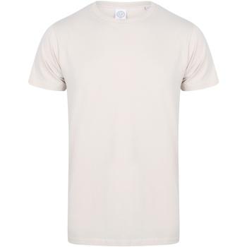 Kleidung Herren T-Shirts Skinni Fit SF121 Heller Stein