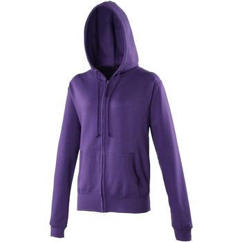 Kleidung Damen Sweatshirts Awdis JH055 Violett