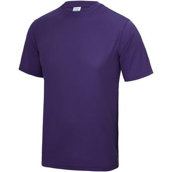 Kleidung Kinder T-Shirts Awdis JC01J Violett