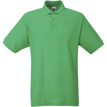 Kleidung Herren Polohemden Fruit Of The Loom 63402 Grün